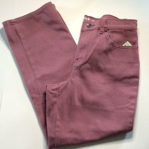 Style & company purple NWT jeans size 8 short